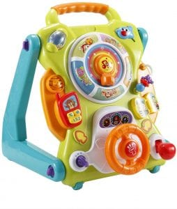 NuoPeng 3-In-1 Baby Sit-to-Stand Activity Walker Toy