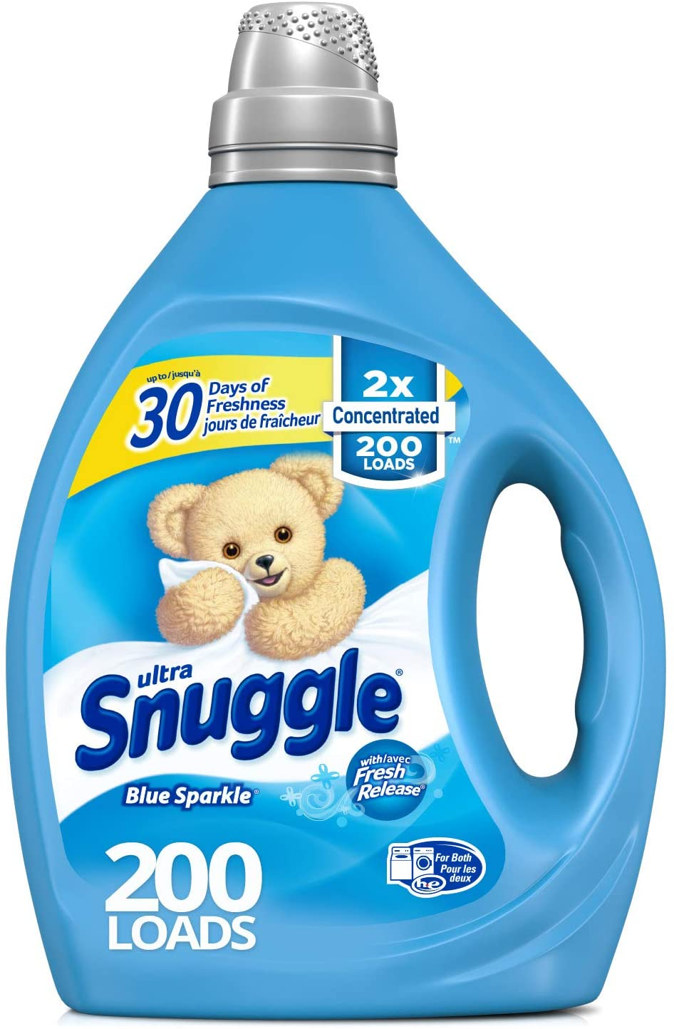 Snuggle Blue Sparkle Concentrated Liquid Fabric Softener