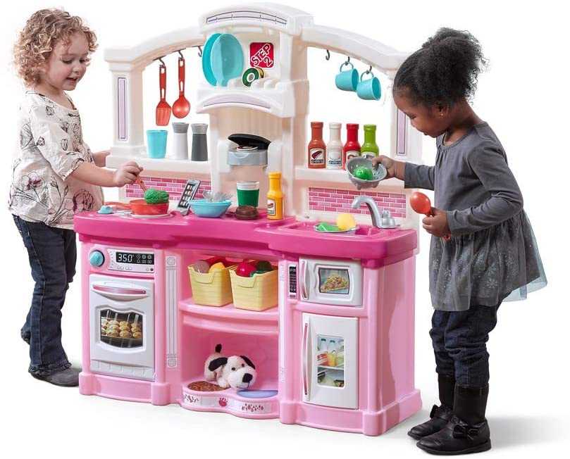 Step2 Realistic Plastic Kids Play Kitchen