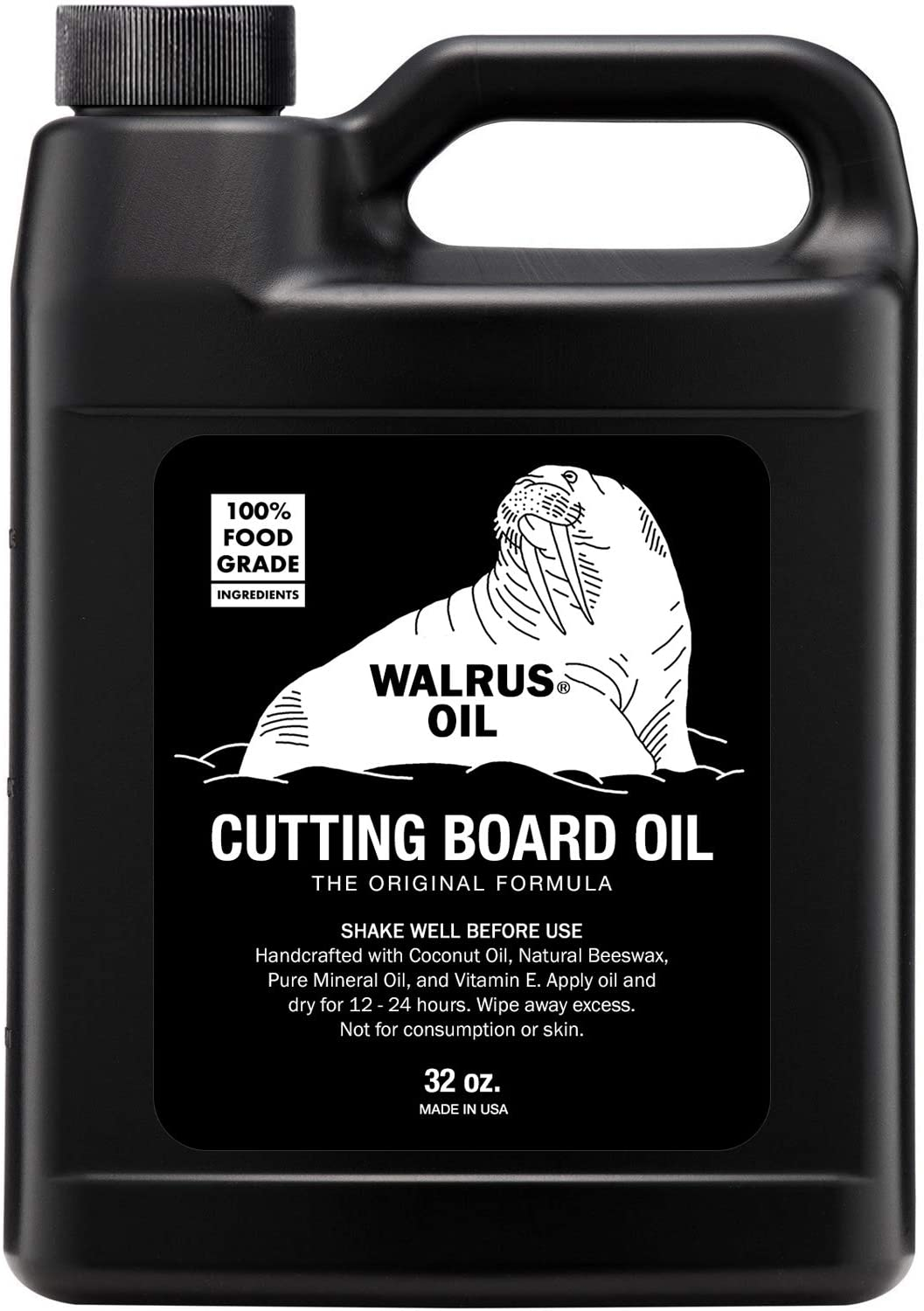 WALRUS OIL Food-Safe Butcher Block & Cutting Board Oil
