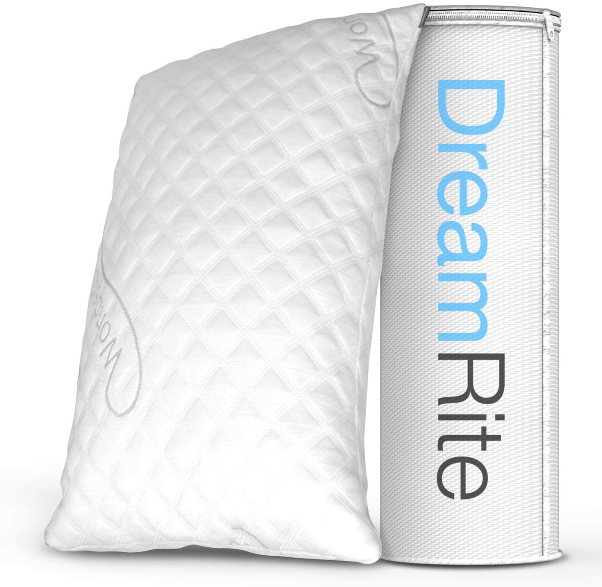 WonderSleep Dream Rite Shredded Hypoallergenic Memory Foam Hotel Pillow