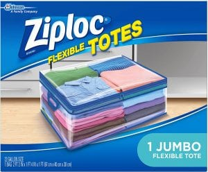 Ziploc Flexible Tote Underbed Storage Bag