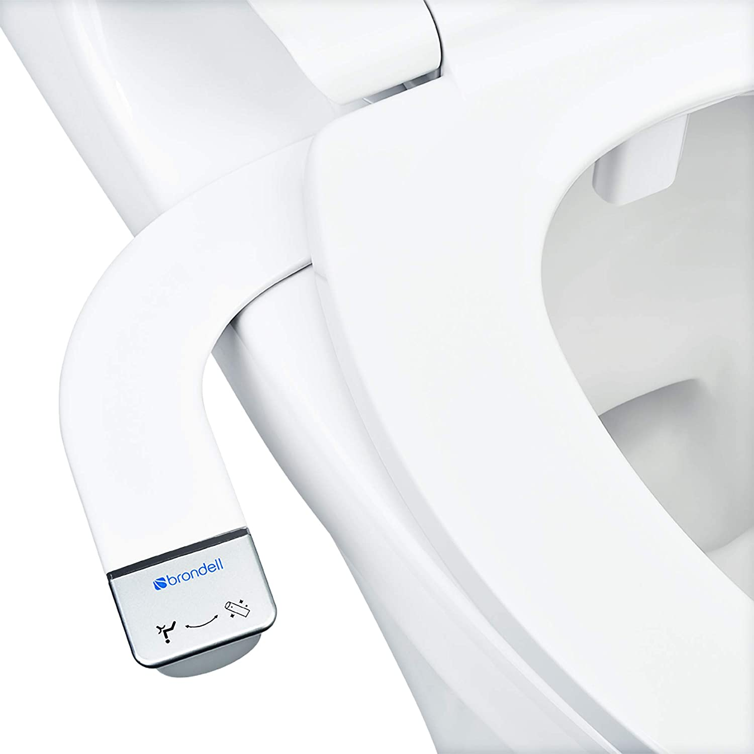 Brondell SS-150 Thinline SimpleSpa Self-Cleaning Bidet Attachment