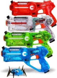 DYNASTY TOYS Family Laser Tag Set, 4-Pack