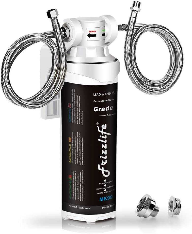 Frizzlife Under Sink Water Filter System