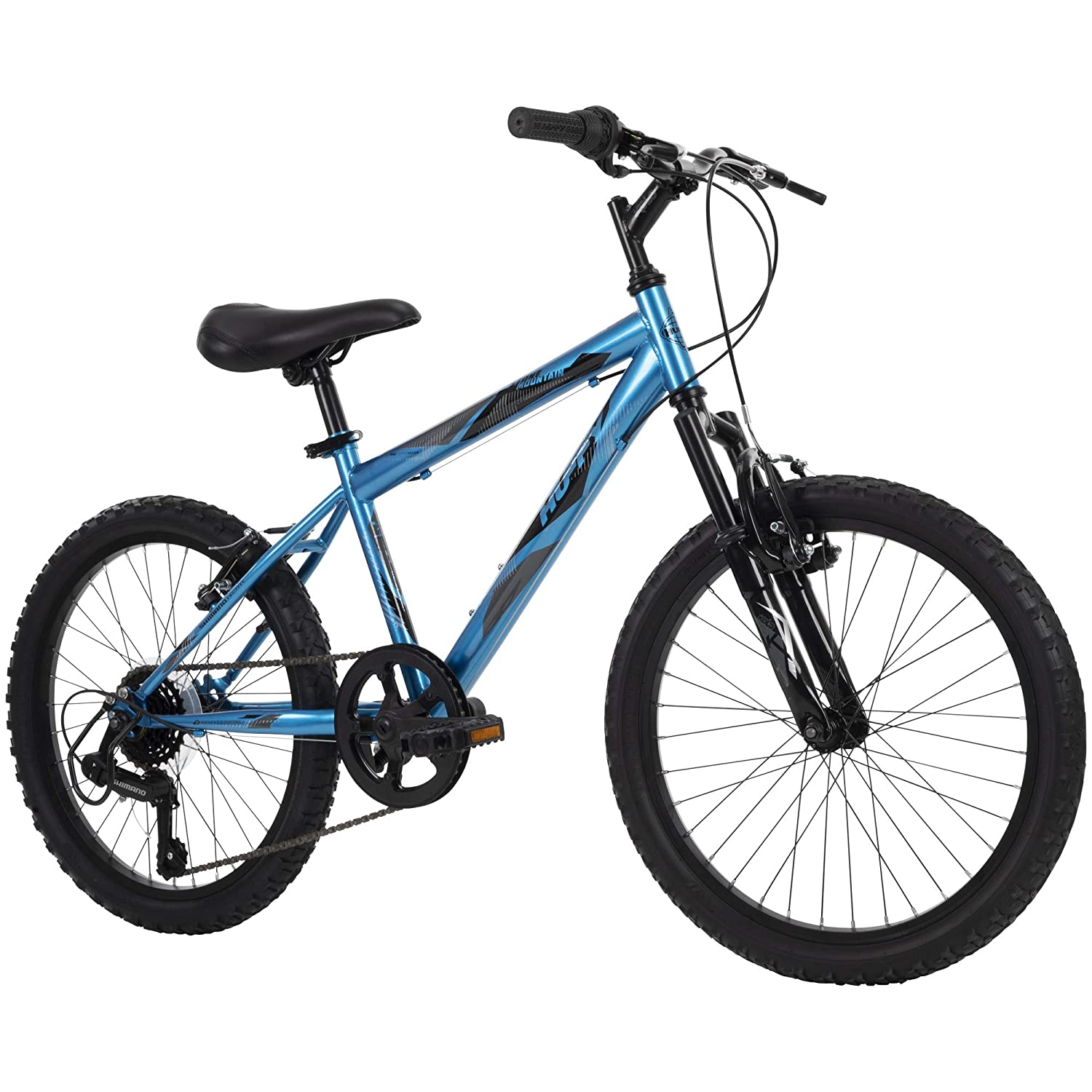 Huffy Kids Hardtail Mountain Bike, 6-Speed