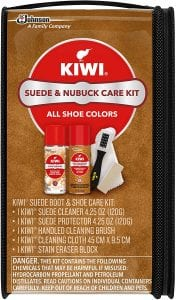 KIWI Suede & Nubuck Shoe Cleaner Kit