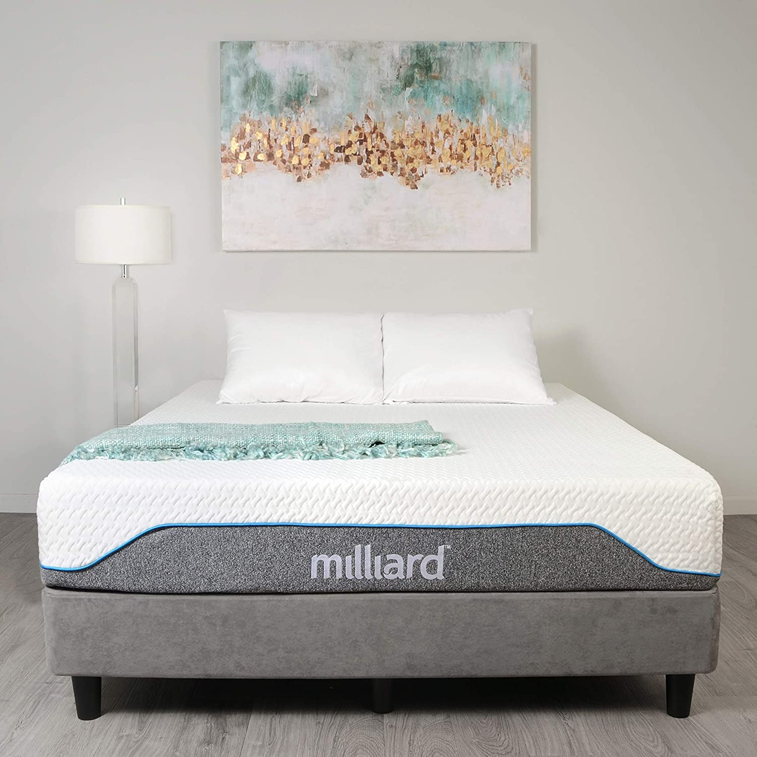 Milliard Firm Classic King Memory Foam Mattress