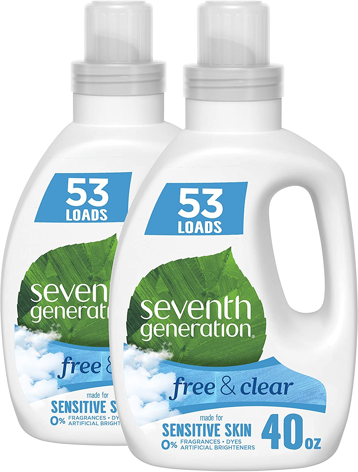 Seventh Generation Free & Clear Concentrated HE Laundry Detergent