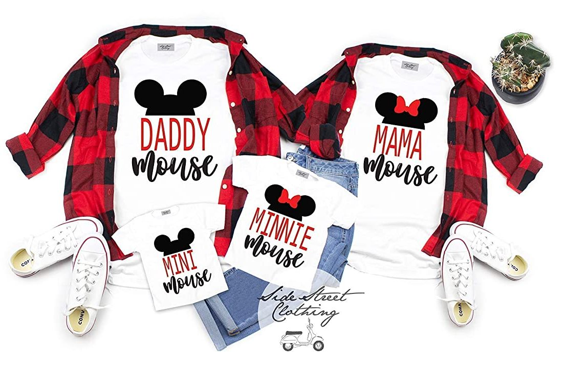 Side Street Clothing Family Coordinating Mouse Disney T-Shirt