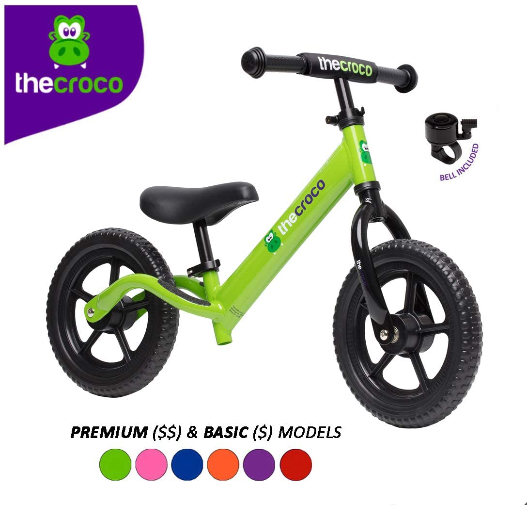TheCroco Lightweight Kids Balance Bike