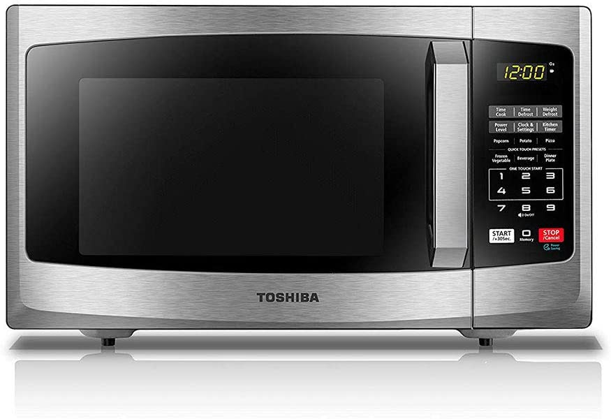 Toshiba EM925A5A-SS 900W Stainless Microwave Oven, 0.9 Cu-Feet