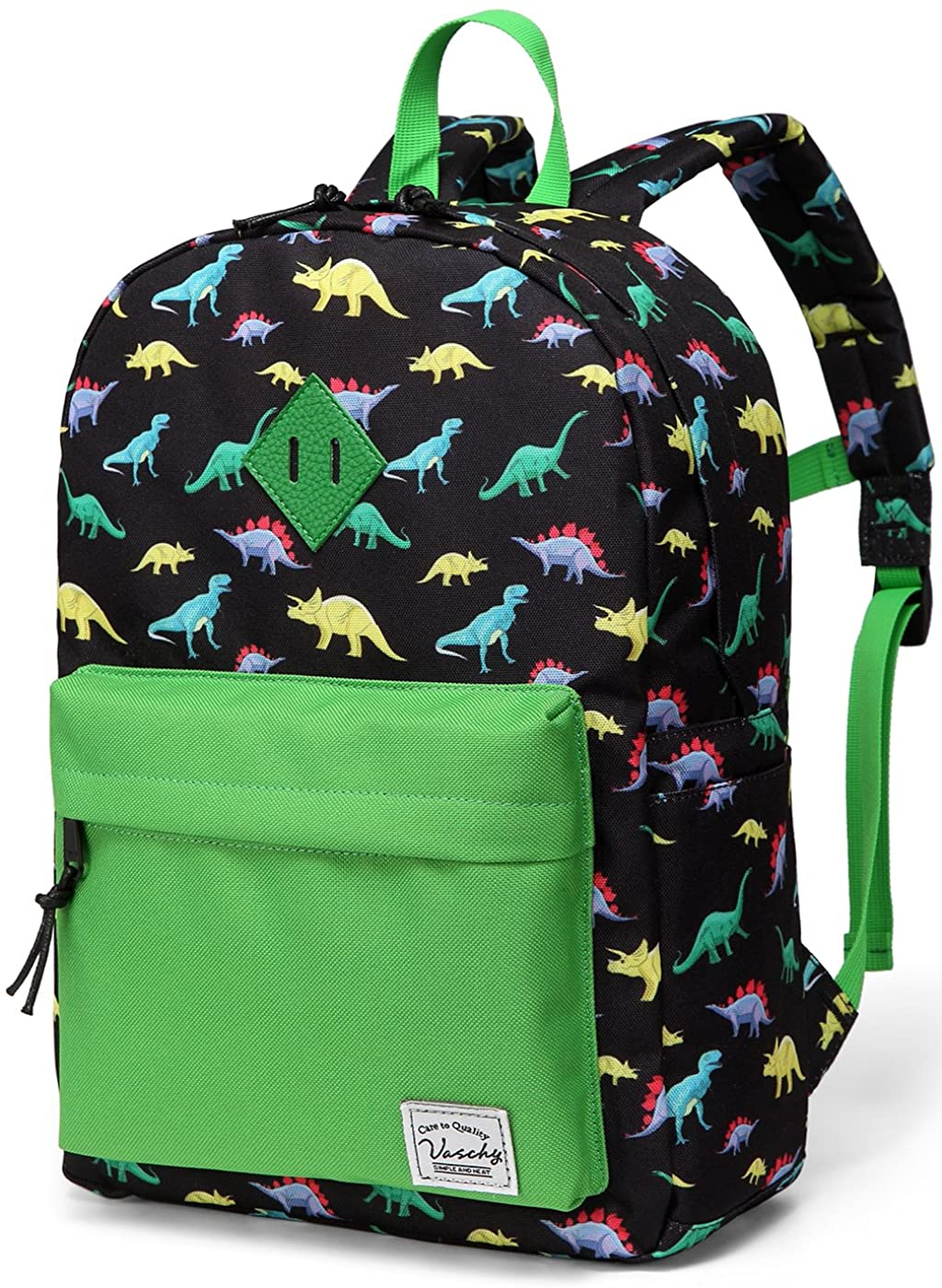 VASCHY Preschool Dinosaur Backpack For Boys
