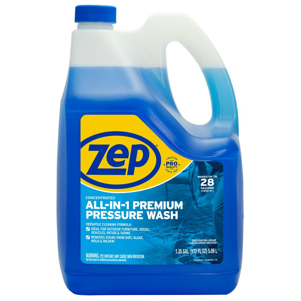 ZEP ZUPPWC160 All-In-1 Pressure Wash, 172-Ounce