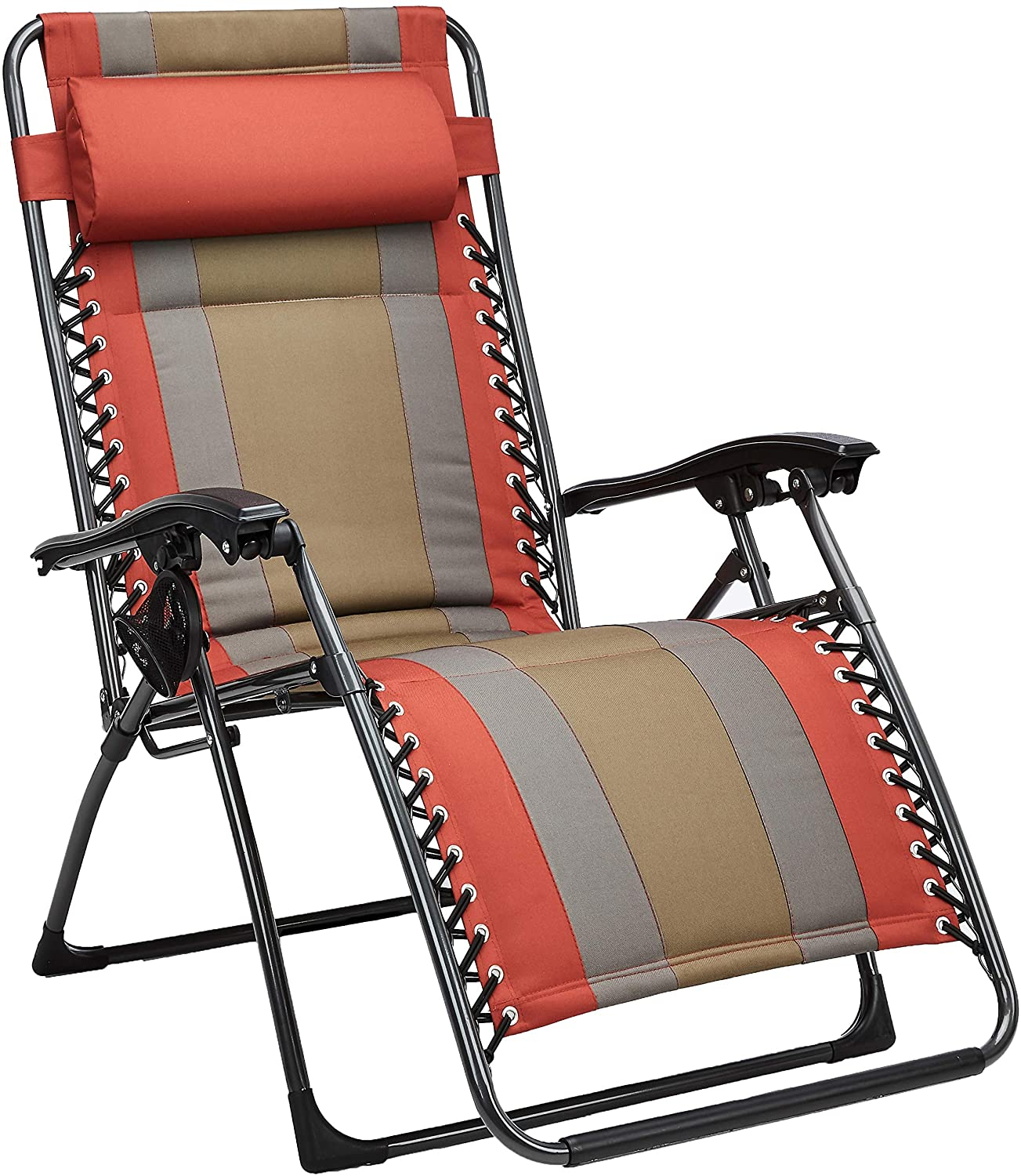 AmazonBasics Padded Zero Gravity Beach Chair
