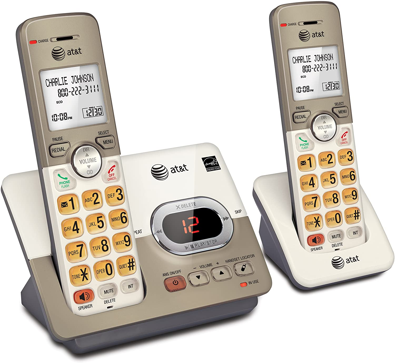 AT&T Expandable Cordless Phone & Answering Machine
