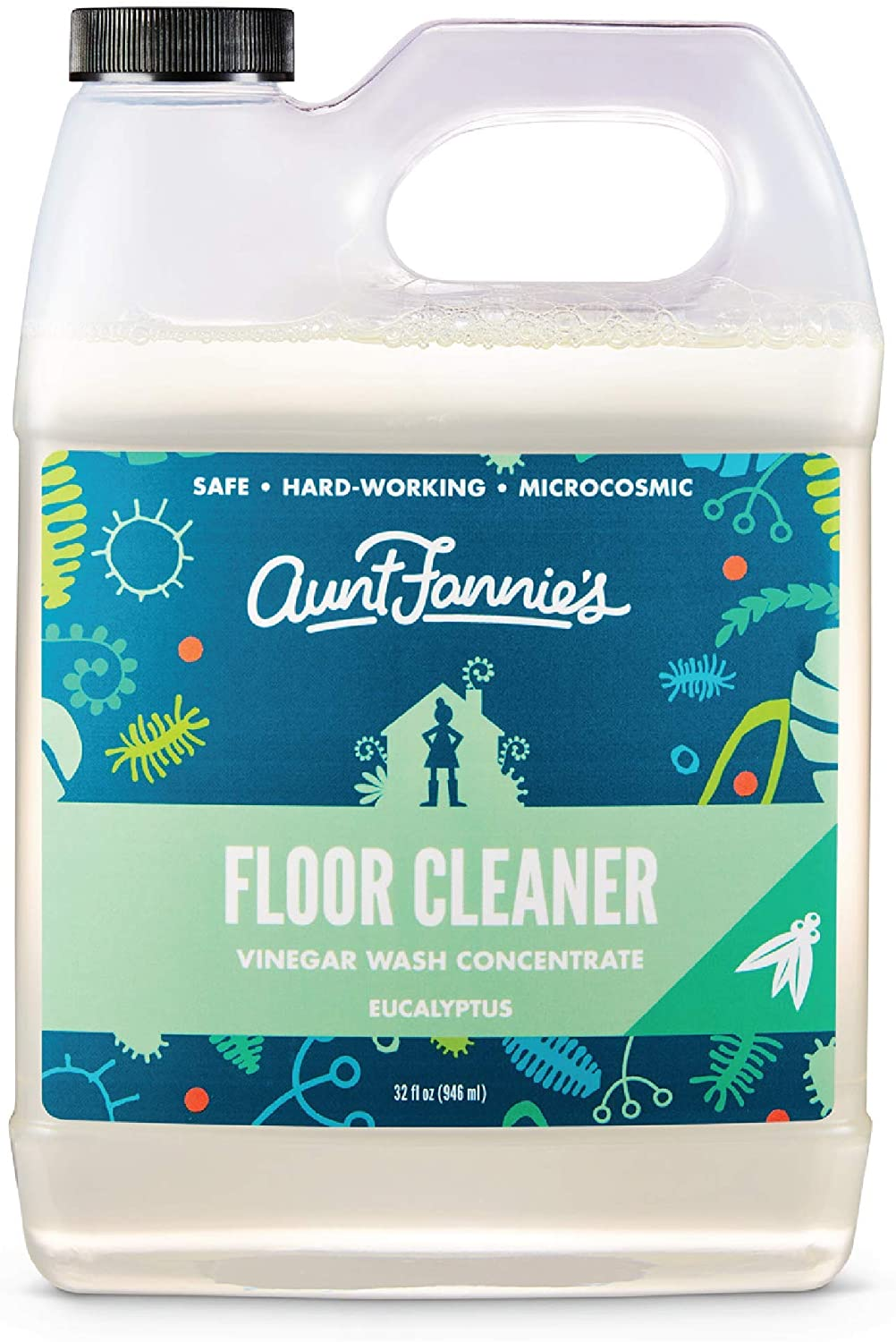 Aunt Fannie's Vinegar Wash Mopping Solution