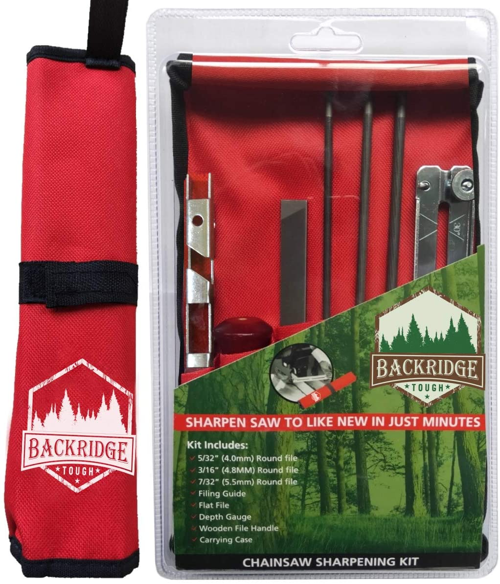 Backridge Tough Chainsaw Sharpener File Kit