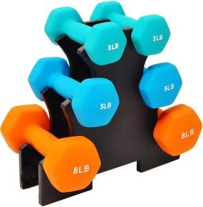 BalanceFrom GoFit All-Purpose Dumbbell Set