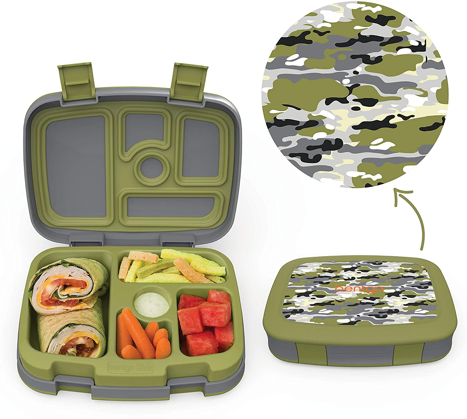 Bentgo Leak-Proof Bento-Style Kids Lunch Box