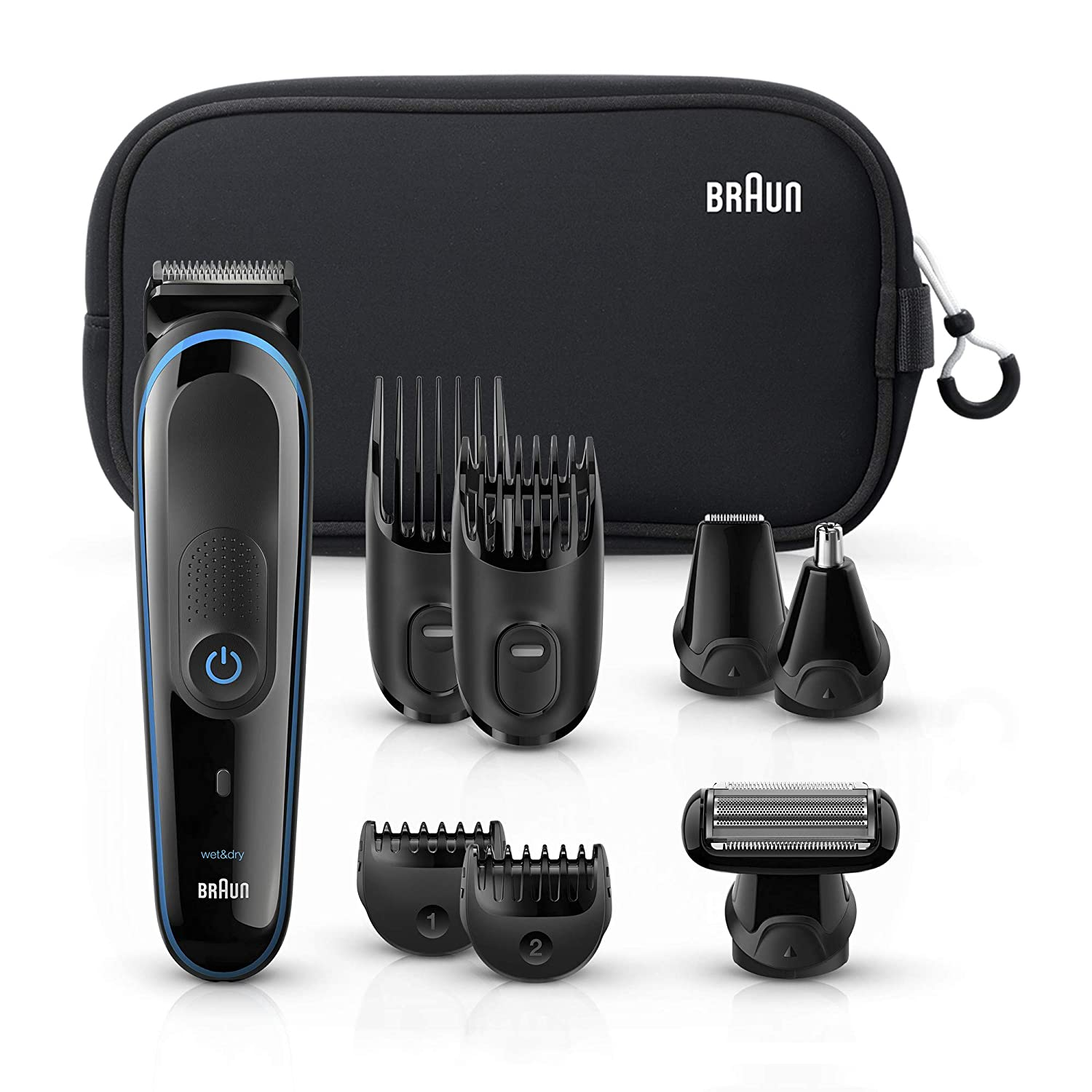 Braun MGK3980 9-In-1 Rechargable Beard Trimmer