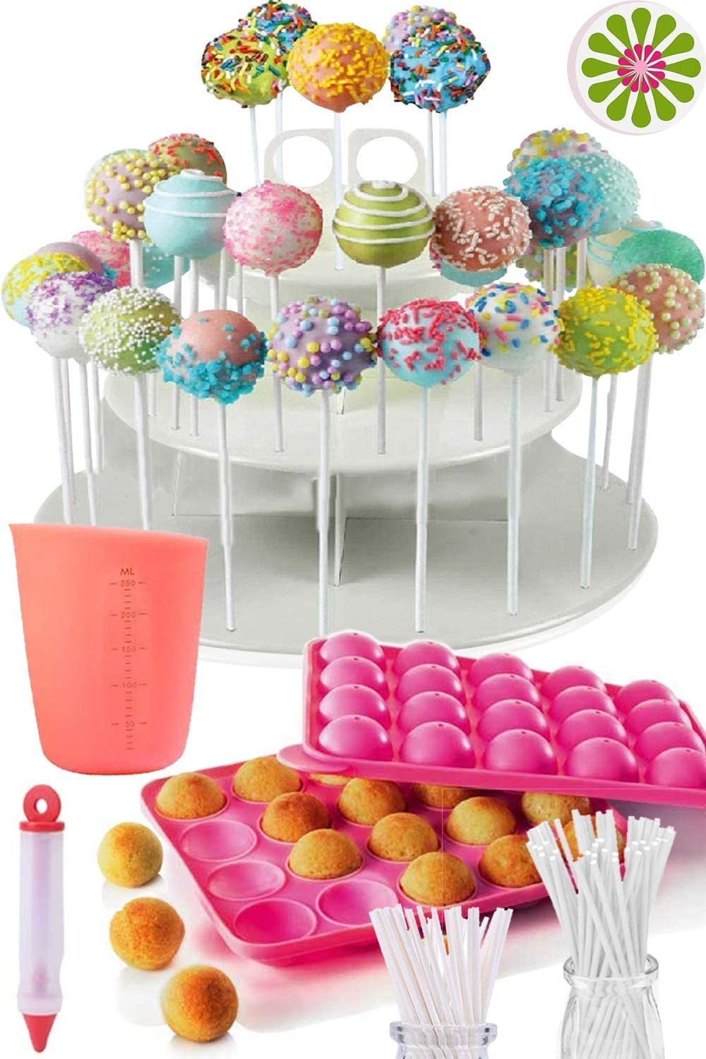Cakes of Eden Complete Cake Pop Maker Kit