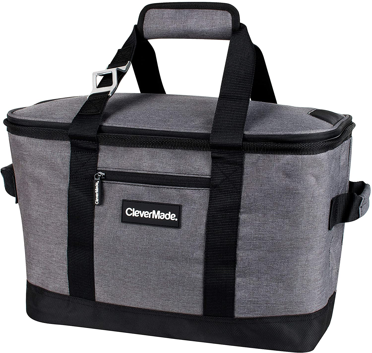 CleverMade Soft Sided Collapsible Cooler Bag