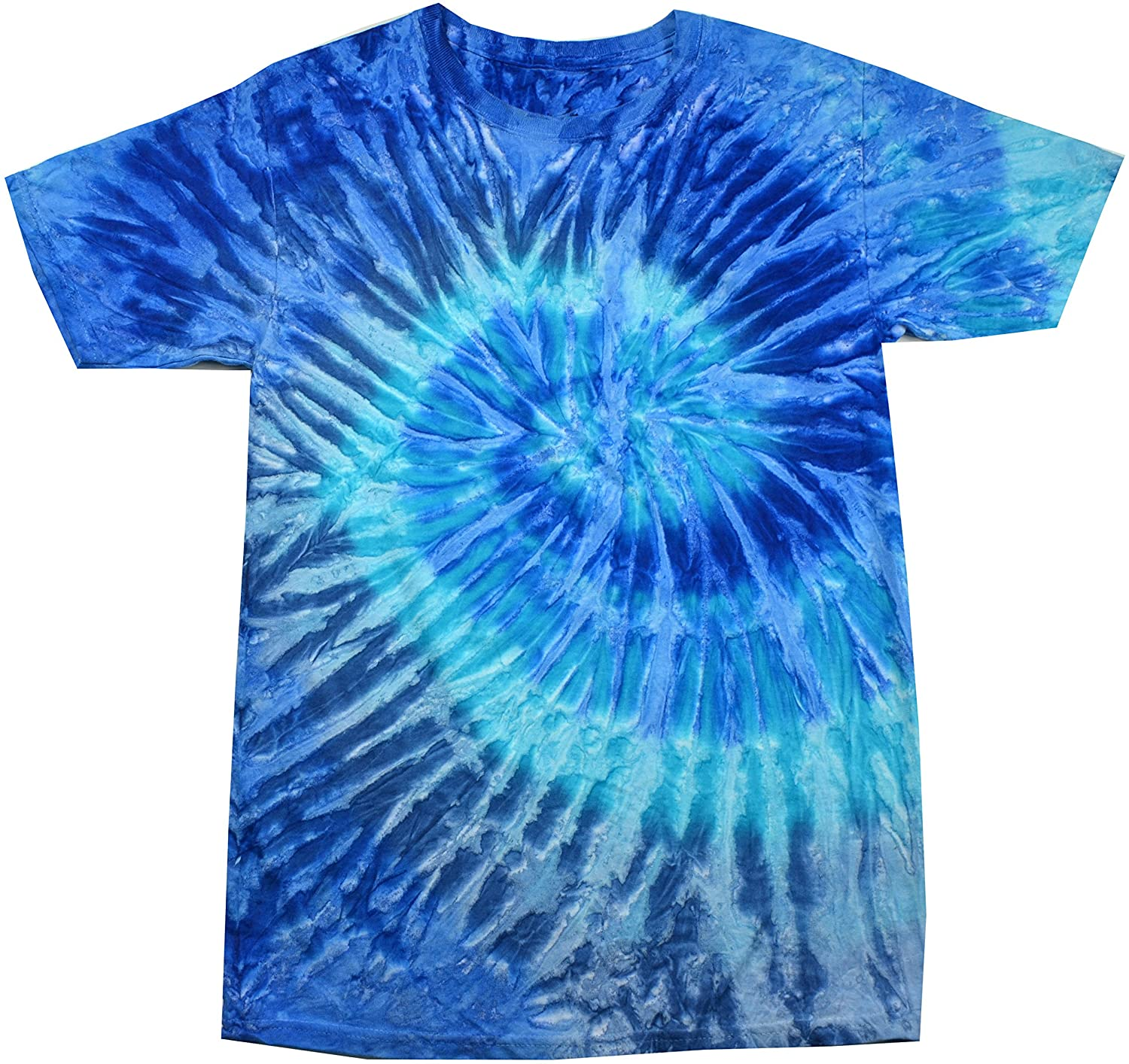 Colortone Cotton Short Sleeve Tie Dye Shirt For Kids