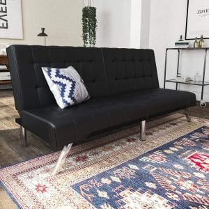 DHP Emily Convertible Futon Couch