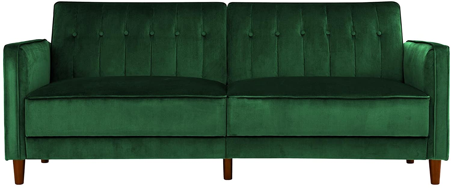 DHP Ivana Tufted Futon Couch