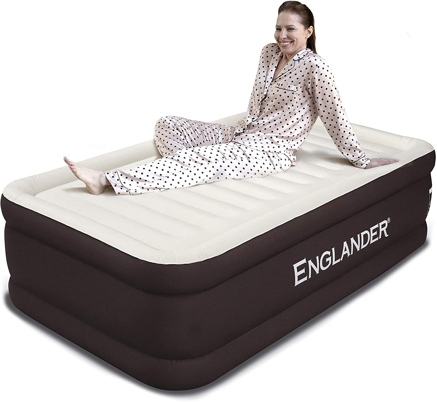 Englander Microfiber Air Mattress & Pump