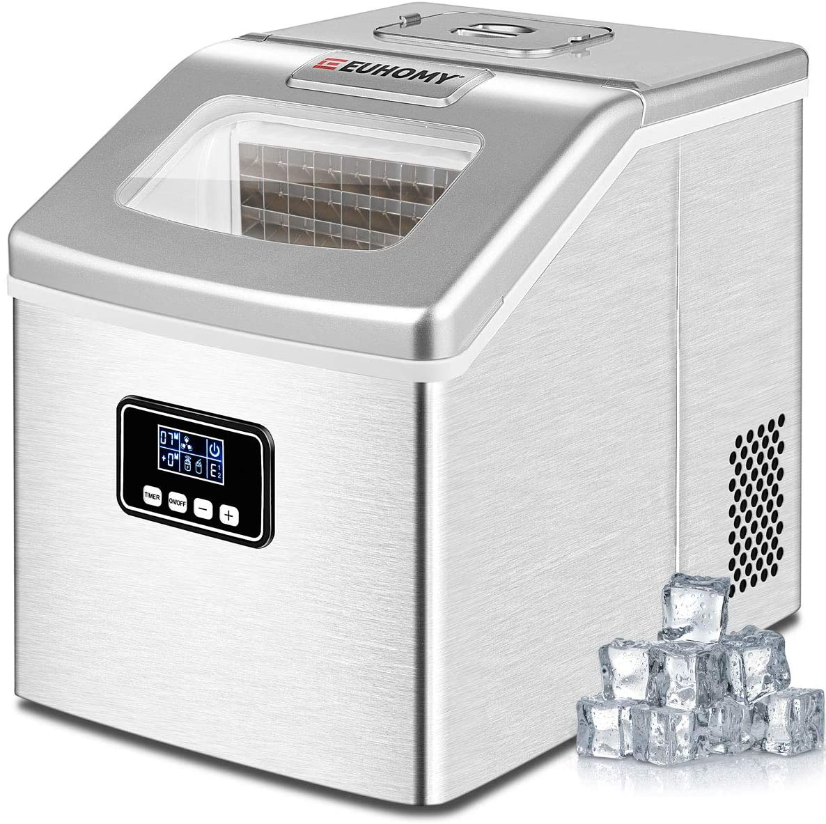 Euhomy Countertop Ice Maker Machine