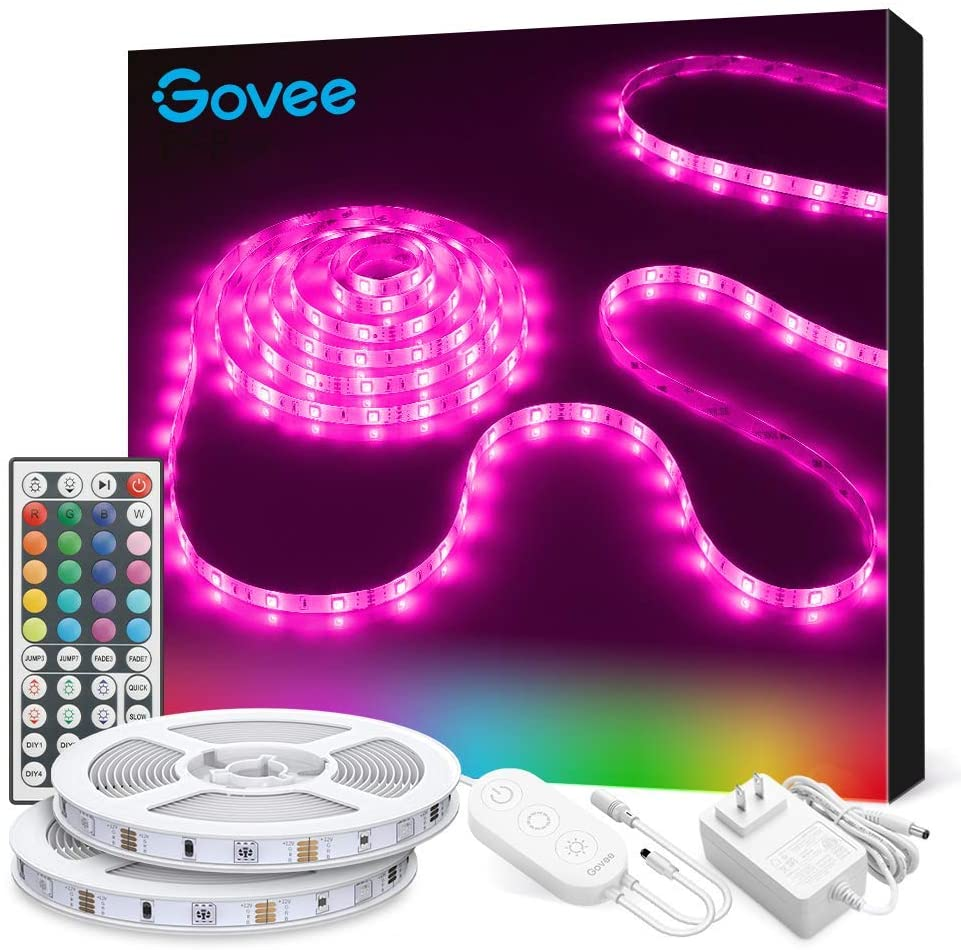 Govee RGB Colored Rope LED Lights, 32.8 Feet