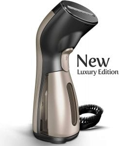 iSteam Luxury Dry Steam Portable Fabric Steamer