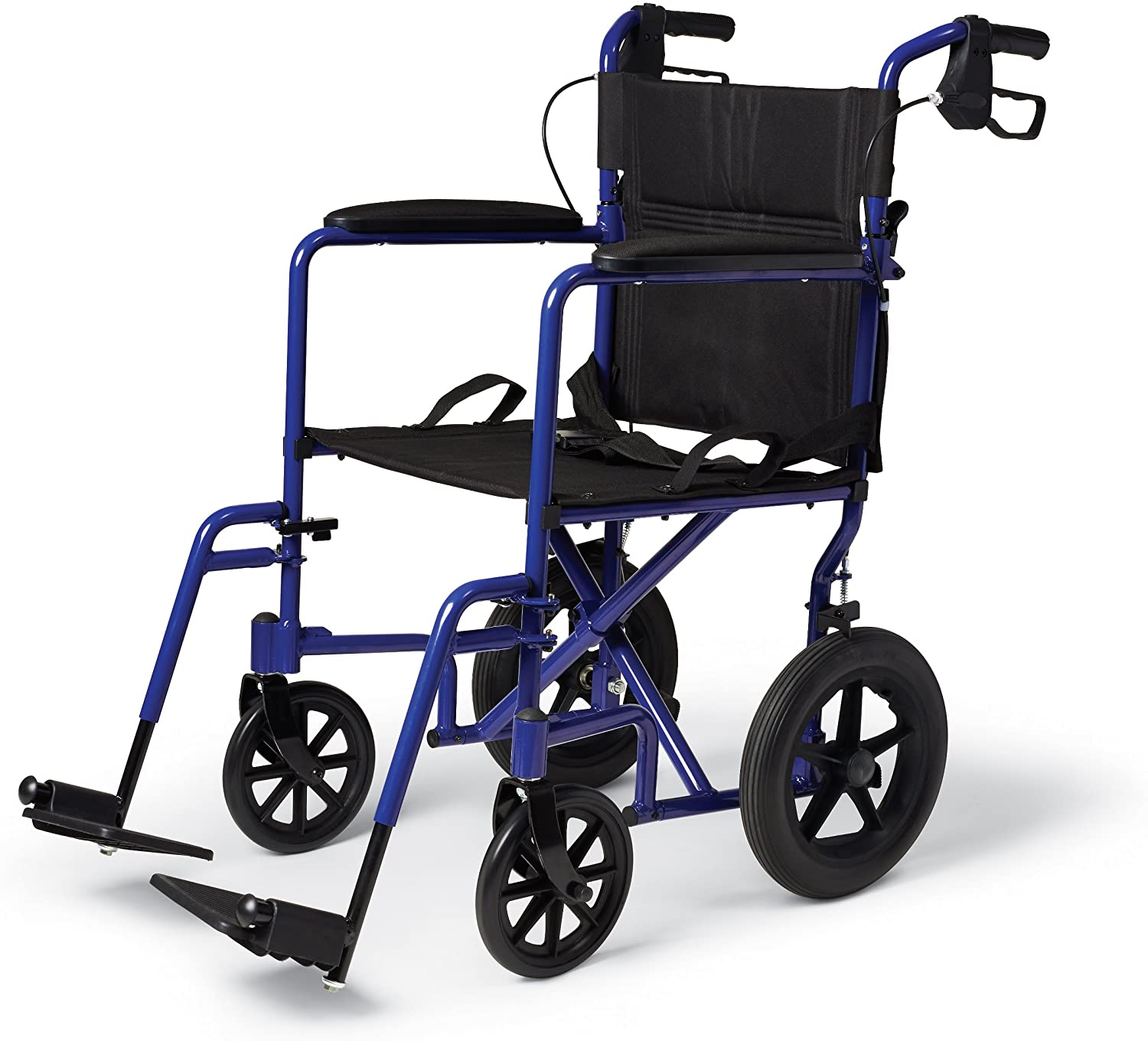 Medline Folding Transport Wheelchair With Brakes