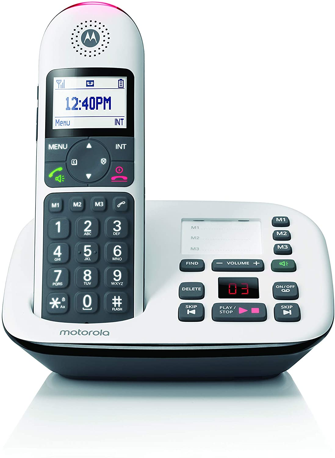 Motorola Cordless Phone & Answering Machine