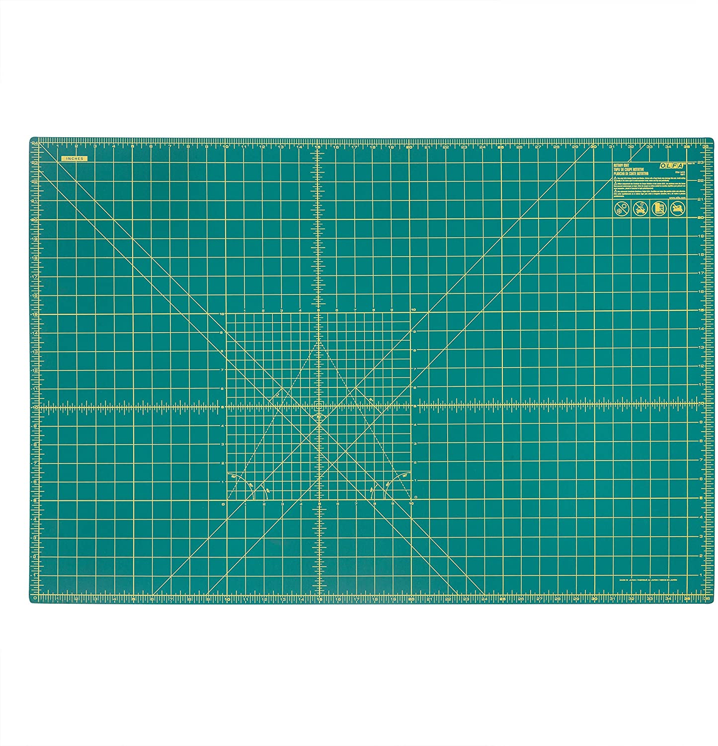 OLFA Double-Sided Self-Healing Rotary Cutting Mat