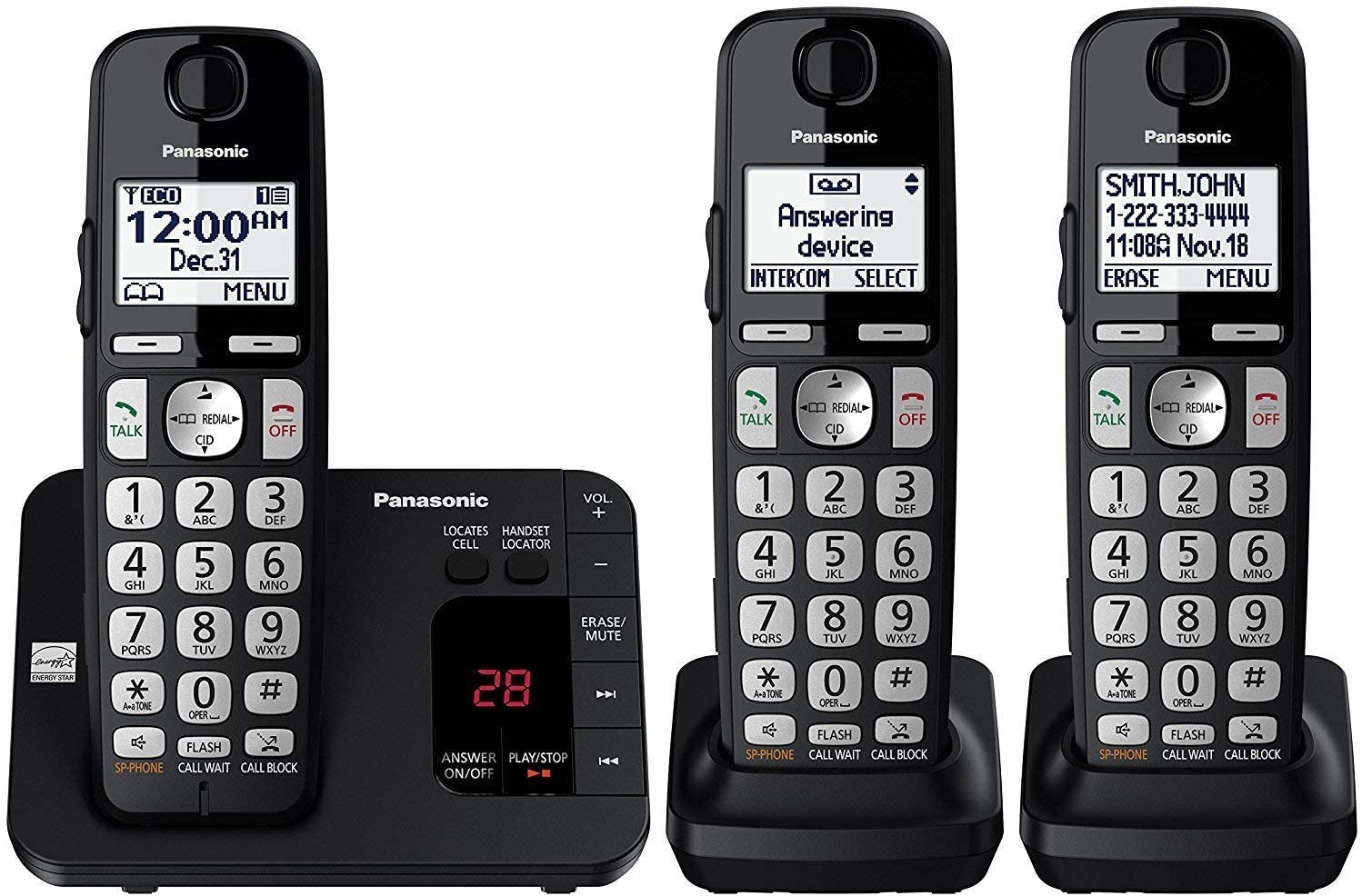 Panasonic Expandable Cordless Phone & Answering Machine