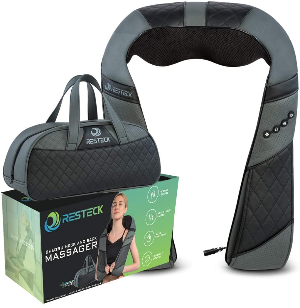 RESTECK Heat Neck & Back Massager