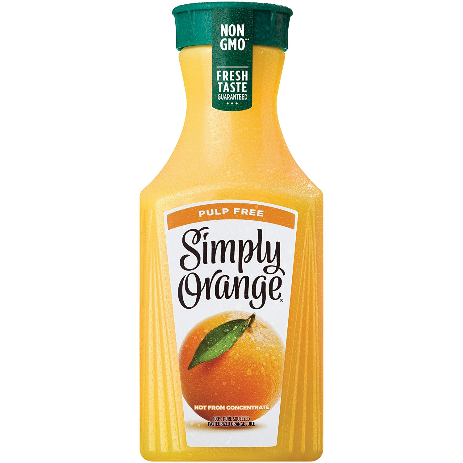 Simply Orange 100% Orange Juice Pulp Free