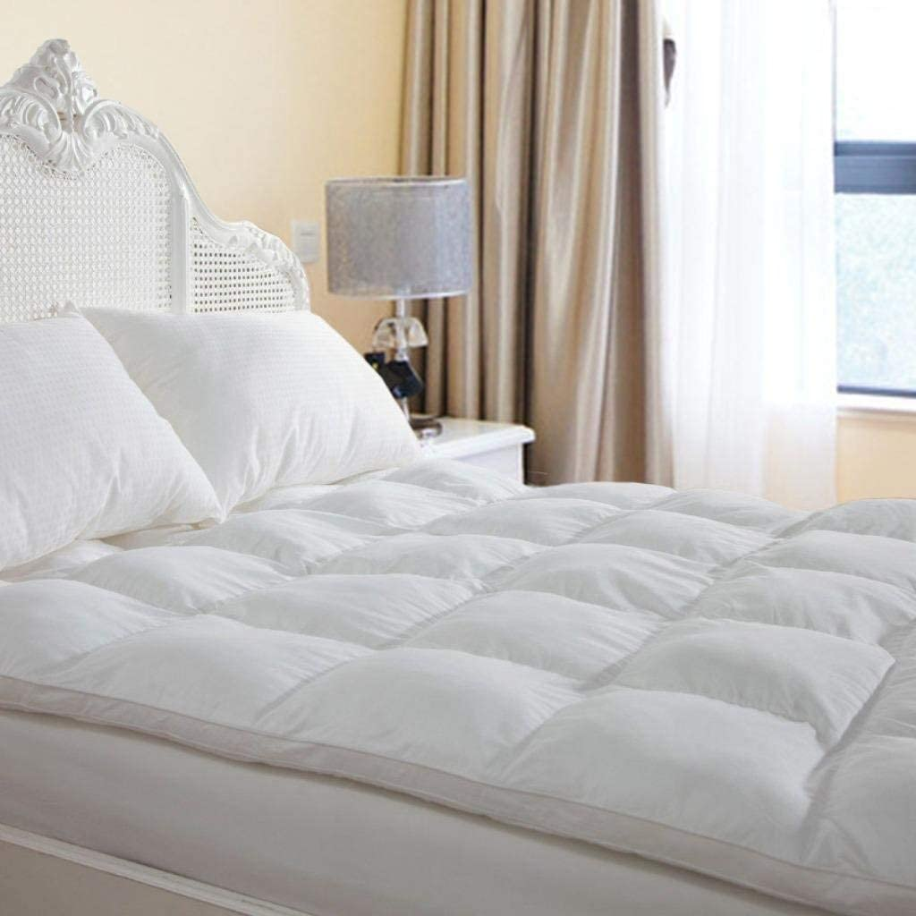 The Duck & Goose Co Overfilled Queen Mattress Pad Topper