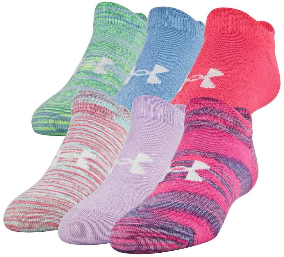 Under Armour Youth Essential 2.0 No Show Socks