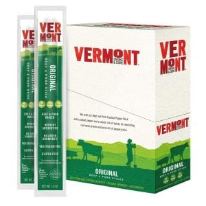 Vermont Smoke & Cure Antibiotic Free Original Beef Jerky Sticks