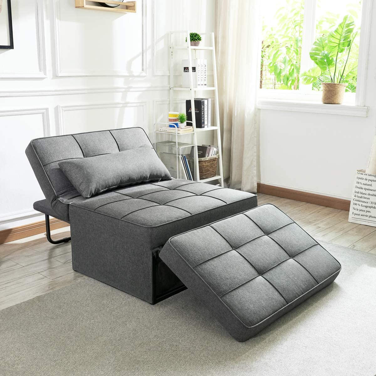 Vonanda 4-In-1 Convertible Chair Sofa Bed