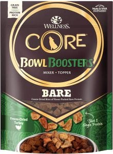Wellness Core Bowl Boosters Natural Freeze Dried Dog Food Topper