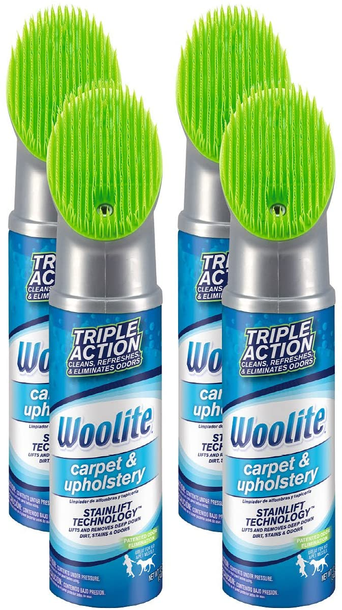 Woolite Carpet & Upholstery Cleaner, 4-Pack