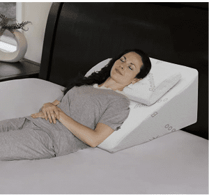 InteVision Foam Bed Wedge Pillow & Headrest