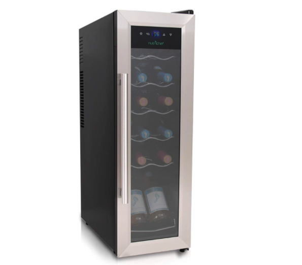 Nutrichef Stainless Steel Wine Cooler