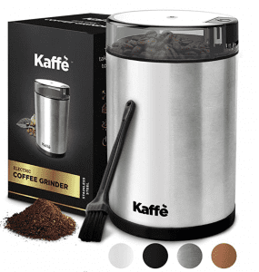 Kaffe KF2010 Stainless Steel Electric Coffee Grinder