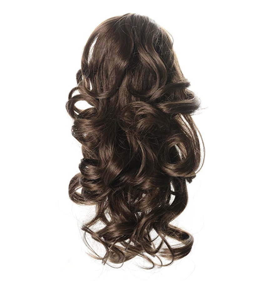 Onedor Synthetic Fiber Textured Fake Hair Ponytail